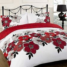 Polyester Art Deco Style Floral Bedding Sets & Duvet Covers