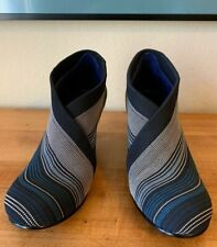 United Nude Women's Blue Black Yellow The Fold Ankle Boot Mid Heel EU 39/ US 8.5