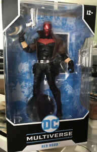 """RED HOOD McFarlane Toys DC Multiverse single pack 7"""" action figure NEW IN-HAND"""
