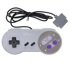 New Wired Controller Gamepad For Nintendo SNES and Super Famicom SFC Console