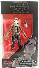 "Star Wars Black Series Sergeant Jyn Erso (Jedha) Rogue One 6"" Inch Action Figure"