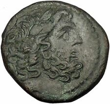 ANTIOCH on the ORONTES in SELEUKIS and PIERIA 48BC Zeus Nike Greek Coin i53313