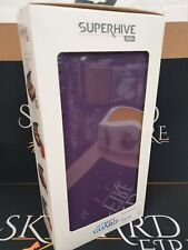 More details for ultimate guard superhive 550+ standard size xenoskin™ purple (new/sealed)