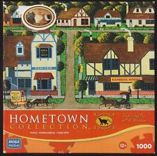 Heronim Main Street Cambria 1000 pc Puzzle Sealed Pieces In Open Box