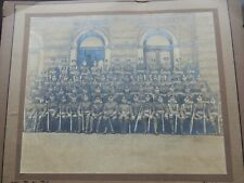 More details for chatham royal engineers ww1 photograph 276 party 1916  -29/24cm large