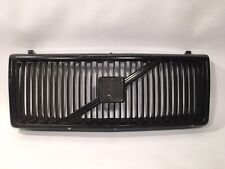 Volvo 240 Front Grill - Good Used Item - Black / Chrome