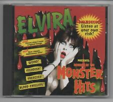 ELVIRA's Revenge of MONSTER Hits CD 1995 RHINO R2 72179 9-TRACKS HALLOWEEN