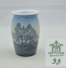 Dahl-Jensen Copenhagen Porzellan - Vase mit Landschaftsmotiv