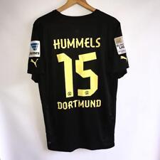 VERY RARE BORUSSIA DORTMUND AWAY 2012/13 FOOTBALL SHIRT JERSEY #15 HUMMELS