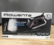 Iron Rowenta Dw2361U1 Digital Display Steam Iron Stainless Steel 1700 watts