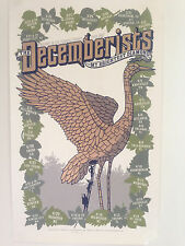 The Decemberists Plus My Brightest Diamond. Mike King s/n poster