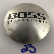 (1) BOSS CUSTOM WHEELS POLISHED  CENTER CAP HUBCAP P/N: 3197