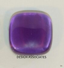 AFRICAN AMETHYST 26 MM SQUARE  CUSHION CUT CABOCHON ALL NATURAL