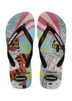 Havaianas Men's Top Mulga Flip Flop Sandals - B/B/W Tiger/Koala NWT