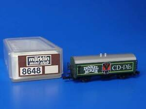 MARKLIN Z - 8647 - Beer Car DINKEL ACKER / BOX - LN