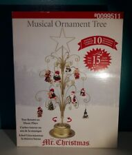 Mr. Christmas Rotating Musical Ornament Tree Original
