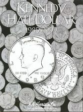 Coin Folder - Kennedy Half Dollar 1985 - 1999 Set - Harris Album 2697 - NEW