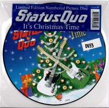 STATUS QUO It's Christmas Time LIMITED EDITION NUMBERED PICTURE DISC MINT / NEW