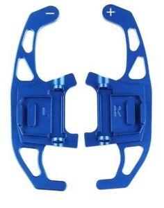 Aluminium Alloy Blue Paddle Shift Gear Extension VW DSG MK7 / MK7.5 GTI Golf R