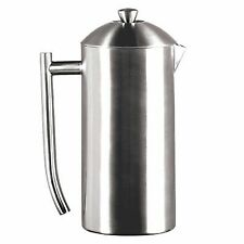Frieling French Press Insulated Coffee Maker - Brushed Finish-36 Fl Oz