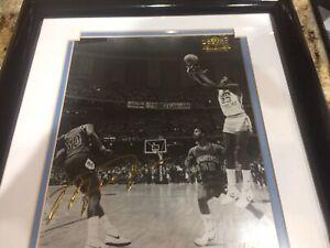 """Michael Jordan Upper Deck Limited Edition Gold Signature NCAA Finals """"The Shot"""""""