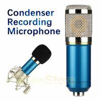 BM-800 Condenser Microphone Studio Pro Audio Pickup Recording MIC W/ Shock mount