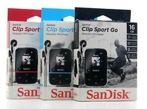 SanDisk Clip Sport Go 16GB MP3-Player 18 Std Laufzeit FM-Radio