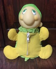 "Cute & Rare Vintage 1994 Playskool 10"" Soma ""Baby Light-Up Turtle"" Plush GUC"