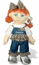 Personalised Extra Large Rag Doll Birthday Bridesmaid Flower Girl Gift