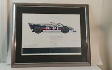 1971 Martini Racing PORSCHE 917K  12hrs of Sebring Print Poster  Ed 2/200
