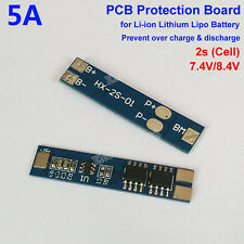 2S 7.4V 8.4V 2 Cell 5A Li-ion Lithium Battery18650 Charger PCB Protection Board