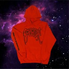 Xxxtentacion Revenge Kill Hoodie (Orange) Black Outline Xxx Sweatshirt XLARGE XL
