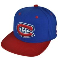NHL American Needle Montreal Canadiens Richard Maurice Snapback Flat Bill Hat Ca