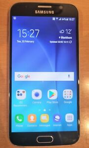 Samsung Galaxy S6 SM-G920F - 32GB - Black Sapphire (O2) Smartphone