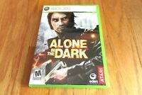 Alone in the Dark (Microsoft Xbox 360, 2008) Includes Manual