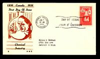 Canada 1956 Chemical Industry FDC / H&E Thermo Cachet - L12387