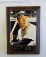 NY Yankees Mickey Mantle Plaque
