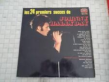 LES 24 PREMIERS SUCCES DE JOHNNY HALLYDAY (2 VYNILS) 33 TOURS ANNEE 1971