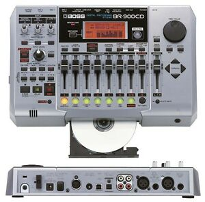 BOSS BR-900CD DIGITAL RECORDING STUDIO CD & USB WITH 1GB MEMORY CARD 80 800 1600