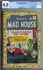 ARCHIE'S MAD HOUSE #36 CGC 4.0 OW/WH PAGES