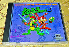Jazz JackRabbit 2 PC CD rabbit II SEALED NEW SUPER RARE COMPUTER GAME 1997