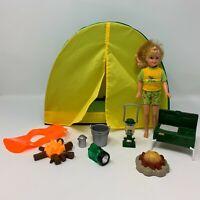 2 Sleeping Bags Frozen Elsa   Print Toy Play Pop Up Doll Tent 1 BeanBag Chair