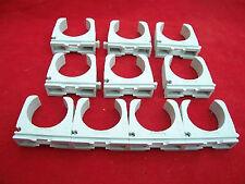 10x Fischer Rohrclip 32mm  Rohrschelle Kunststoff für Ölleitung Spannweite 31-32