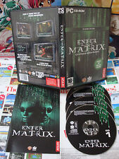 PC CD-Rom:Enter The Matrix [TOP ACTION & 1ERE EDITION] COMPLET - Fr