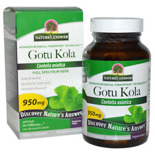 Natures Answer - Gotu Kola Herb 950 mg Standardized Extract - 90 Capsules