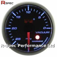 52mm Blue Stepper Motor Warning Vacuum Vac Pressure Gauge Psi With Warning