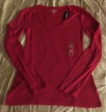 Old Navy XS Shirt WOMENS  Pink Perfect Long Sleeve NWT