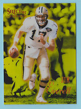 1995 Select Certified Edition Mirror Gold Jim Everett New Orleans Saints #24