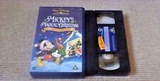 Mickey's Magical Christmas Snowed In At The House Of Mouse UK PAL VHS VIDEO 2005