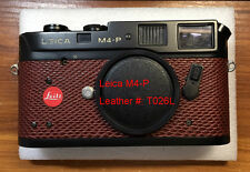 Leica M4-P replacement leather cover kit T026L